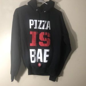 Pizza Hut hoodie, pizza is bae